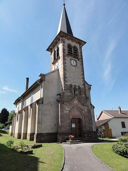 Angomont (M-et-M) église
