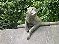 Animal Wall 8 - Wolf - geograph.org.uk - 1375347.jpg