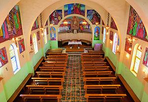 Anjara - Image: Anjarah church inside