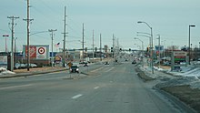 Delaware Avenue, a business-heavy thoroughfare (2008)