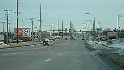 Ankeny Iowa 20080104 Delaware Ave South.JPG
