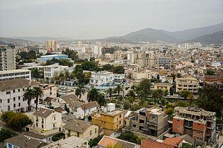 Annaba City in Annaba Province, Algeria