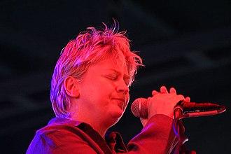 Anne Clark (poet) - Anne Clark live in concert (M'era Luna Festival) in Hildesheim (Germany) 2004