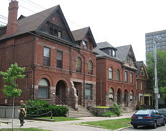 The Annex - Larger homes typically found in the Annex north of Bloor Street