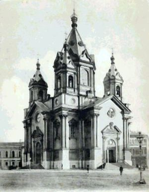 Konstantin Thon - Annunciation church in St. Petersburg (1843–49).