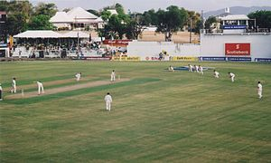 Antigua Recreation Ground - West Indies v Australia in May 2003