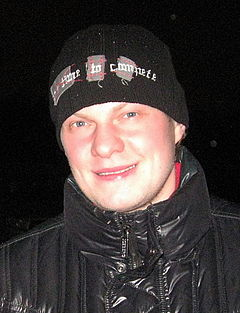 Description de l'image Anton Kuryanov, ice hockey player.jpg.