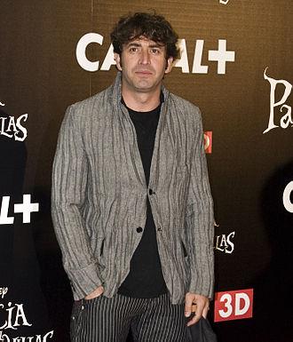 Antonio Garrido (actor) - Antonio at the photocall of Alice in Wonderland in 2010.