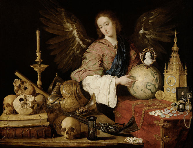 Vanitas by Antonio de Pereda y Salgado Antonio de Pereda - Allegory of Vanity - Google Art Project.jpg