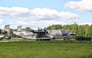 Antonov An-22 Migalovo Air Force base Open day 01.jpg