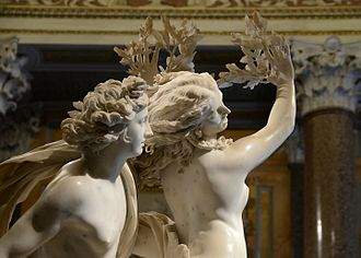 Apollo and Daphne (Bernini) - Detail of the sculpture
