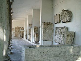 Lapidarium - Aquincum-Budapest-Hungary. Museum - Lapidarium