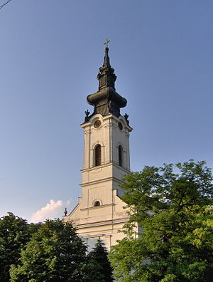 Aradac - Slovak Evangelic church in Aradac