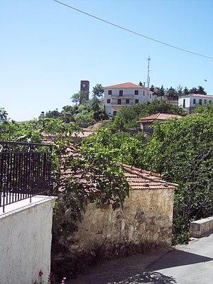 Karyes - Image: Arahova hill