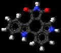 Arcyriacyanin A molecule ball.png