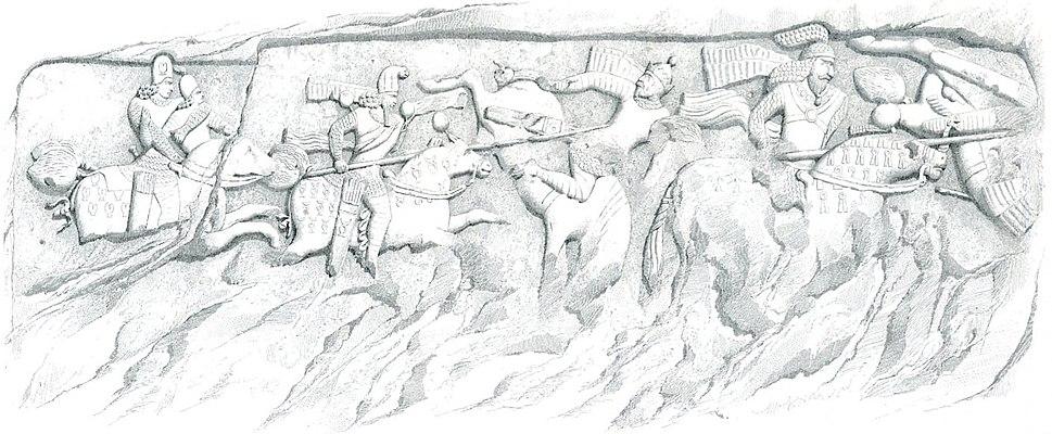 Ardachir relief Firuzabad 1