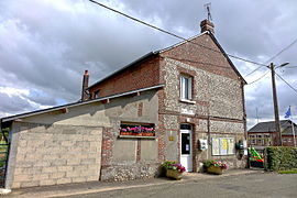 The town hall in Ardouval