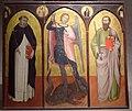 Arezzo, san domenico, int., trittico di giovanni d'agnolo.JPG