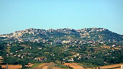 Panorama of Ariano Irpino