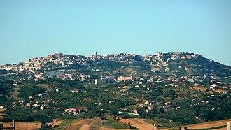 Ariano Irpino - Panorama of Ariano Irpino