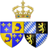 Arms of Marie Anne Victoire of Bavaria as Dauphine of France.png