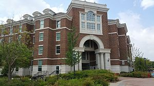 Southern Methodist University - Armstrong Commons, one of five residential commons opened in 2014