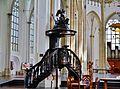 Arnhem Grote Kerk Sint Eusebius Innen Kanzel 1.jpg