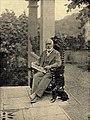 Arnold Böcklin auf der Terrasse seiner Villa in San Domenico bei Fiesole in der Nähe von Florenz.jpg