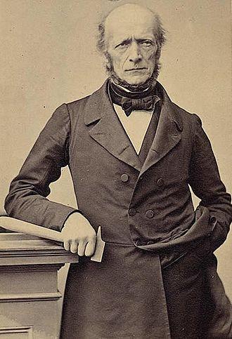 Arnold Escher von der Linth - Photograph of Arnold Escher von der Linth