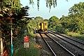 Arriva Trains Wales Class 150, 150282, Hope railway station (geograph 4032642).jpg