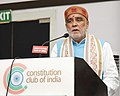 Ashwini Kumar Choubey addressing at the signing ceremony of an MoU between the Ministry of Skill Development and Entrepreneurship, Ministry of Health & Family Welfare and MEITY, in New Delhi.JPG