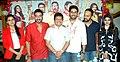 Asin, Ajay Devgn, Asit Modi, Abhishek Bachchan, Rohit Shetty, Prachi Desai 'Bol Bachchan' team on the sets of Taarak Mehta Ka Ooltah Chashmah 11.jpg
