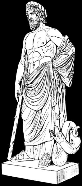File:Asklepios, antik staty, nu i Louvre, Nordisk familjebok.png