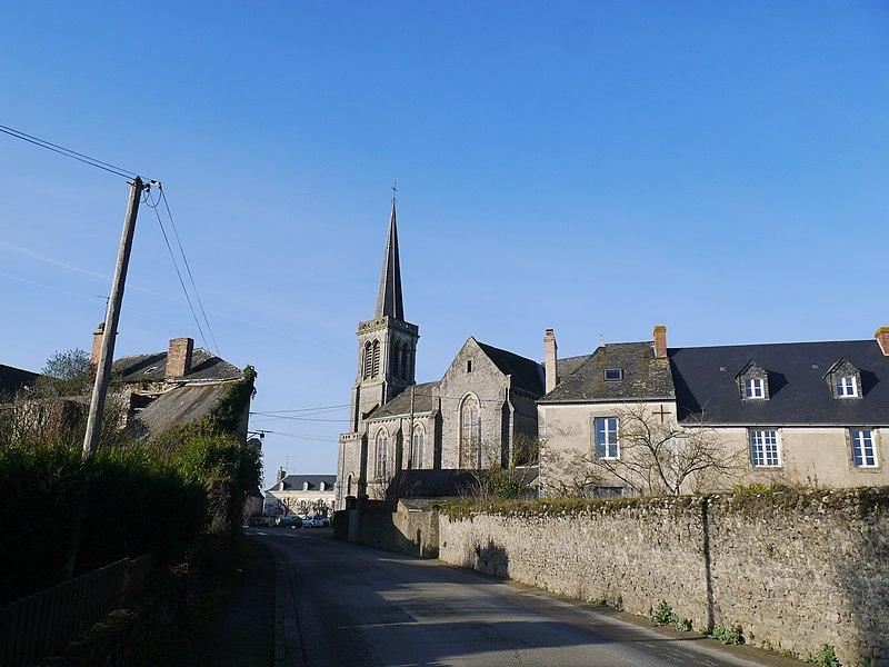 L'église Saint-Thuribe.