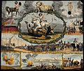 Astronomy; various apocalyptic scenes, including a flogging, Wellcome V0024803.jpg