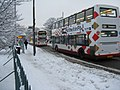 At least the buses are still running! - geograph.org.uk - 2179657.jpg