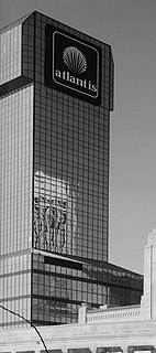 Trump Worlds Fair Hotel and casino in Atlantic City, New Jersey