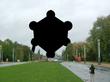 Gecensureerde afbeelding van het Atomium