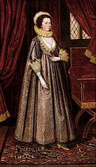 Magdalen Poultney, later Lady Aston