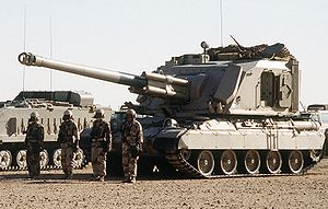 GCT 155mm - GCT 155mm used by Saudi Arabian Military.