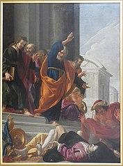 La Mort de Saphire et Ananias