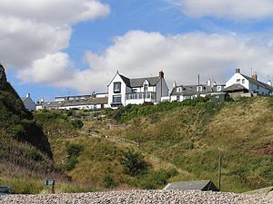 Auchmithie - Image: Auchmithie From Beach 30AUG06