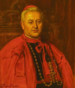 Reorganization of occupied dioceses during World War II - Cardinal August Hlond forced out German prelates after the war and replaced them with Polish ones.