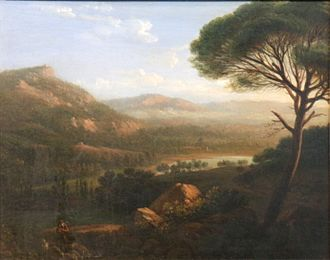 Augustin Aubert - The Environs of Montredon