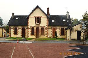 Aurouër - The town hall in Aurouër