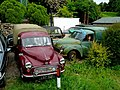 Austin 6 cwt Pickup and Morris ¼ ton van - geograph.org.uk - 1355259.jpg