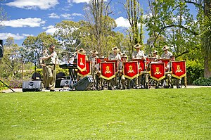 Australian Army Band Kapooka preforming at Str...