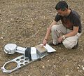 Automated CO2 Exchange system (ACE from ADC BioScientific Ltd) measuring soil respiration..JPG
