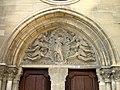 Auvers-sur-Oise - Tympan du portail meridional 01.jpg