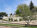 Avignon les rampes d'accès au jardin du Rocher des Doms.jpg